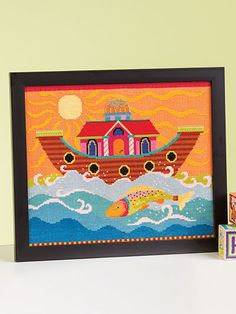 Noah's Ark Cross Stitch