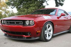 2009 Dodge Challenger 570X Saleen Applizious Red Click to find out more - http://newmusclecars.org/2009-dodge-challenger-570x-saleen-applizious-red/