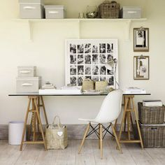 Storage boxes in Home Office: Interiors