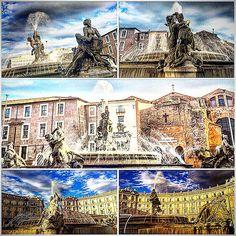 'The fountain of the Naiads' ( 1870 - 1912 ) , Piazza della Repubblica , Roma . • • • • • #Miles7one #nx7 #roma #wanderlus7 #loveitaly #italia #italian #termini #visitrome #rome #igers #igdaily #instagram #instagood #goodvibes #travel #travelgram #traveling #travelling #travels #travelblog #instatravel #travelingram  #traveler #traveller #mytravelgram #travelphotography #traveltheworld