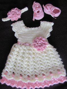 Vestido del bebé recién vestido conjunto de por StonehouseGals