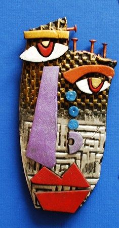 """From exhibit """"Kimmy Cantrel Clay Face"""" by Joshua"""