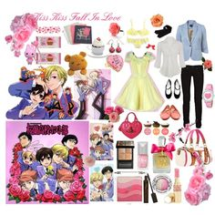 Kiss Kiss Fall in Love - Ouran High School Host Club, created by mccxoxo on Polyvore