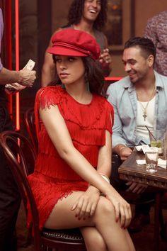 "behind the scenes of the ""Havana"" music video"