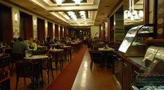 Cafe Slavia Prague, was frequented by famous writers such as Franz Kafka, Rainer Maria Rilke and composers such as Smetana and Dvorak. Prague Restaurants, Prague Guide, Prague Tours, Prague Food, Places, Home Decor, Composers, Coffee Shops, Travel Europe
