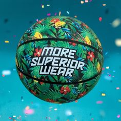 New bespoke floral More Superior Wear basketball Soccer Ball, Basketball, Bespoke, Graphic Design, Floral, Artist, Pattern, How To Wear, Taylormade