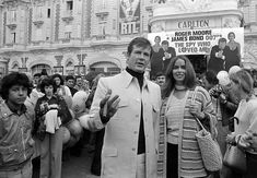 Roger Moore and Barbara Bach at an event for La spia che mi amava (1977) - Click to expand