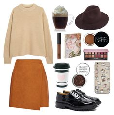 """Cozy "" by polusladkoy ❤ liked on Polyvore featuring interior, interiors, interior design, home, home decor, interior decorating, The Row, MSGM, Tricker's and NARS Cosmetics"
