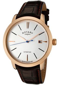 rotary men's watch. simple. relatively cheap.
