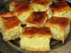 Placinta cu branza si marar - imagine 1 mare Romanian Desserts, Romanian Food, European Dishes, Cinnabon, Pastry Cake, Us Foods, Sweet Tooth, Good Food, Food And Drink