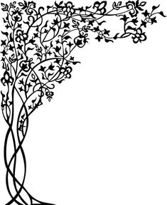 our file TESTED at machine cnc good file Page Borders Design, Border Design, Pattern Design, Tree Stencil, Stencil Painting, Cnc Plasma, Arabesque, Machine Cnc, Stencil Templates