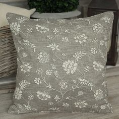Forest Grey Cushion