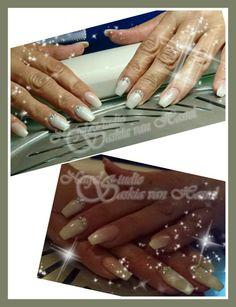 Babyboom glitter nails