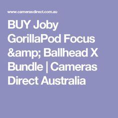 BUY Joby GorillaPod Focus & Ballhead X Bundle | Cameras Direct Australia