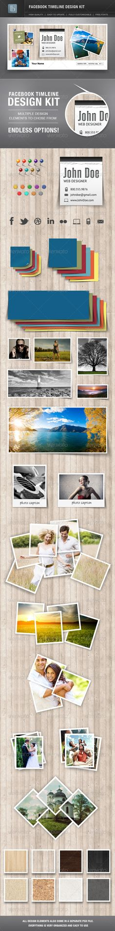 Facebook Timeline Cover Design Kit - Facebook Timeline Covers Social Media