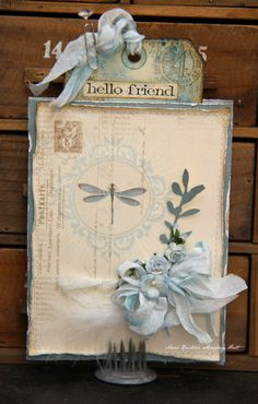 Tag & envelope - Wild Orchid Crafts