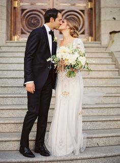 --Featured on : Style Me Pretty | Published in : Salt Lake City Bride & Groom Magazine--Flowers: Sarah Winward, Honey of A Thousand Flowers | Brides Gown: Jenny Packham | Cake: Granite Bakery | Brides shoes : Kate Spade | Grooms suit : Keith Lloyd | Wedding Ceremony: Salt Lake City LDS…