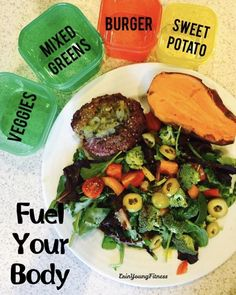 Fuel your body!!  This is what a healthy dinner looks like! #21dayfixapproved