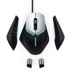 Gotd 1200 DPI USB Wired Optical Gaming Game Mice Mouse Baby Dolphins Blue