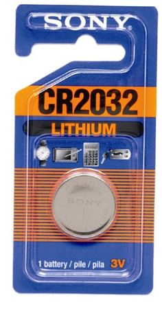 Sony CR2032 Lithium Ion Battery $1.44