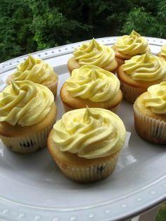Blueberry Lemon Cheesecake Cupcakes > Willow Bird Baking