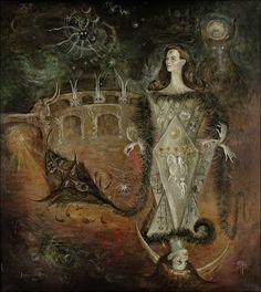 zoe in wonderland: Leonora Carrington: Liminal Spaces