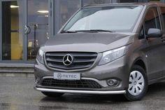 Metec CityGuard til Mercedes-Benz Vito FrontGuard. Mercedes Benz Vito, Vans, Vehicles, Van, Rolling Stock, Vehicle