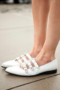 I don't own enough flats. Shoes by Comme des Garcons