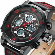 $39.98 (Buy here: https://alitems.com/g/1e8d114494ebda23ff8b16525dc3e8/?i=5&ulp=https%3A%2F%2Fwww.aliexpress.com%2Fitem%2FMens-Watch-Top-Brand-Luxury-AMST-Military-Quartz-Watches-Dive-50M-Leather-Strap-LED-digital-Watch%2F32709057512.html ) Mens Watch Top Brand Luxury AMST Military Quartz Watches Dive 50M Leather Strap LED digital Watch reloj hombre Relogio Masculino for just $39.98