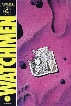Watchmen4 (DC), cover by Dave Gibbons