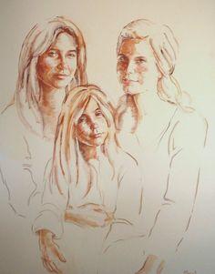 Mama e hijas -M. Isabel Barros Alcalde