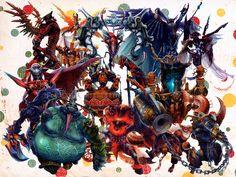 Resultado de imagem para final fantasy summon