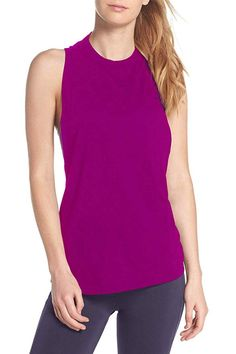 5dd9d722836 Duppoly Sport Tank Top Cross Back Yoga Shirt Cute Running Gym Activewear  Workout Clothes at Amazon Women's Clothing store: