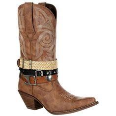 """Crush by Durango Women's 12"""" Accessory Western Boot--DRD0122 ** You can get more details by clicking on the image. (This is an affiliate link)"""