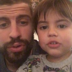 ' See the Adorable Video of Shakira's Son Milan and His Dad Gerard Piqué Chanting for FC Barcelona Fc Barcelona, Milan Pique, Shakira Mebarak, Don T Lie, She Wolf, Christian Bale, Club, Fifa, World Cup