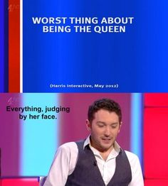 Worst thing about being the Queen | Jon Richardson | 8 out of 10 cats