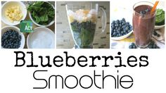 Make your own blueberries smoothie  http://www.ilikediyprojects.com/2015/06/27/blueberries-smoothie/
