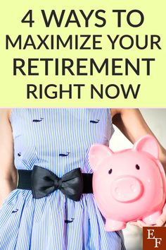 4 Ways to Maximize Your Retirement Right Now | Everything Finance Individual Retirement Account, Retirement Accounts, Saving For Retirement, Retirement Planning, Opening An Ira, Traditional Ira, Health Savings Account, Roth Ira