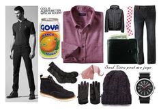 """""""Teagan Landry 18"""" by stockmon ❤ liked on Polyvore featuring Jack & Jones, Lands' End, Apt. 9, 21 Men, Timex, STONE ISLAND, men's fashion and menswear"""