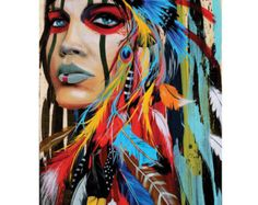 Modern Native American Girl...