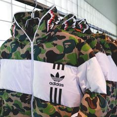 BAPE x ADIDAS Down http://www.uksportsoutdoors.com/product/adidas-ts-train-mens-training-top/