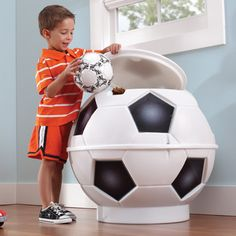 Step2 Soccer Ball Toy Storage Bin