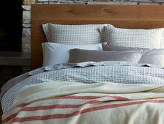 Striped Natural Wool Blanket | Coyuchi