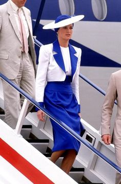 1989- Diana and Charles arrive at Dubai