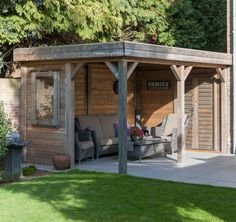 A wooden gazebo in your garden? ✅High-quality gazebos against the best price ✅Design your own wooden gazebo ✅Buy now at Lugarde Gazebo Roof, Grill Gazebo, Patio Gazebo, Diy Pergola, Backyard Patio, Patio Decks, Outside Seating Area, Outdoor Seating Areas, Outdoor Rooms