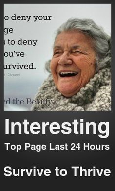 Top Interesting link on telezkope.com. With a score of 182. --- Survive to Thrive. --- #interesting --- Brought to you by telezkope.com - socially ranked goodness.
