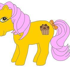 Muffin Sugar Magic Pony