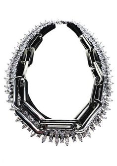 venna-fall-2013-crystal-metal-chain-and-leather-necklace
