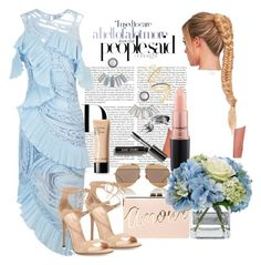 """""""Russel'swife BABYSHOWER"""" by staydiva on Polyvore featuring moda, Christian Dior, Alice McCall, Bobbi Brown Cosmetics, MAC Cosmetics, BCBGMAXAZRIA, Diane James, Aéropostale, Gianvito Rossi y Madewell"""