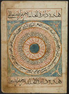 Manuscript-Qurʻat al-khulafāʾ al-ʻAbbāsīyah umarāʾ al-muʾminīn